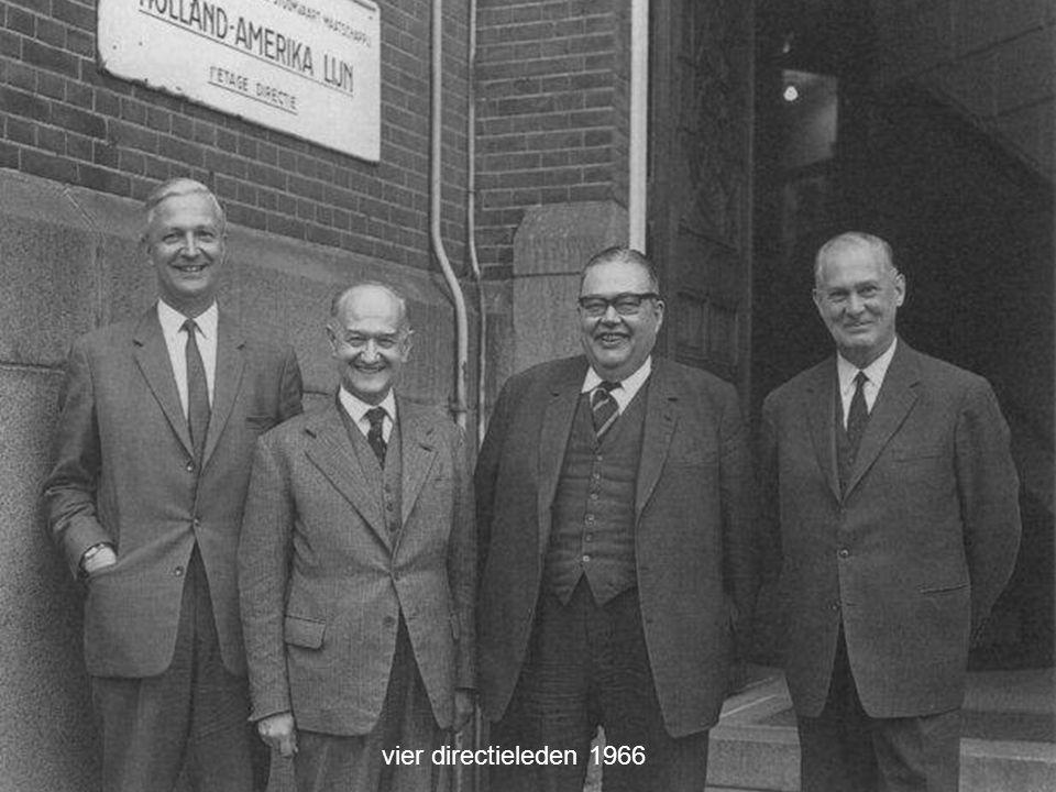 vier directieleden 1966