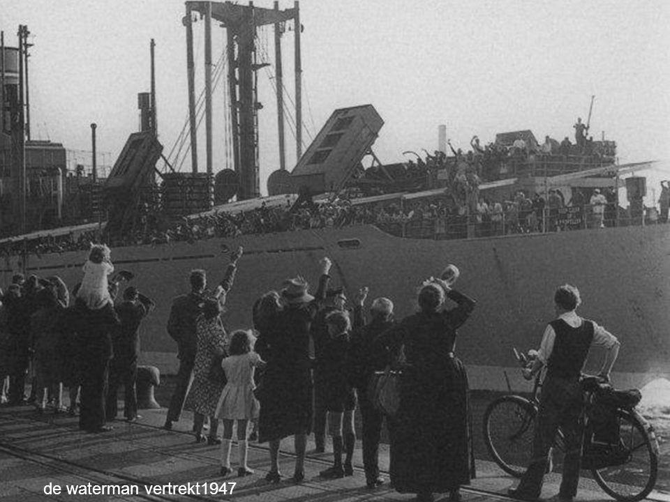 de waterman vertrekt1947