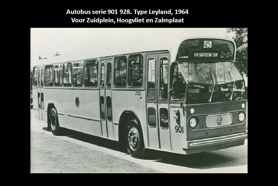 Autobus serie 901 928. Type Leyland, 1964