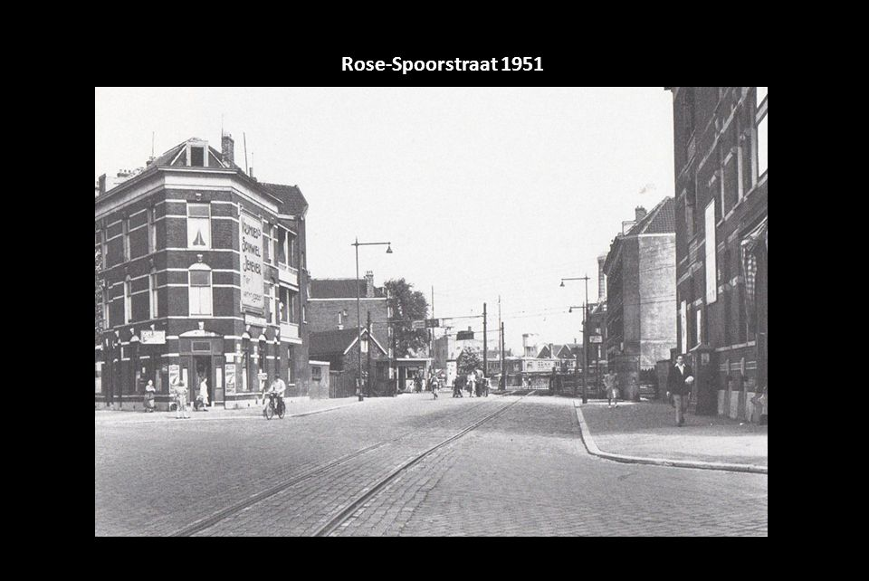 Rose-Spoorstraat 1951
