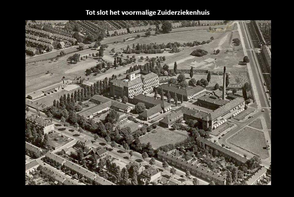 Tot slot het voormalige Zuiderziekenhuis