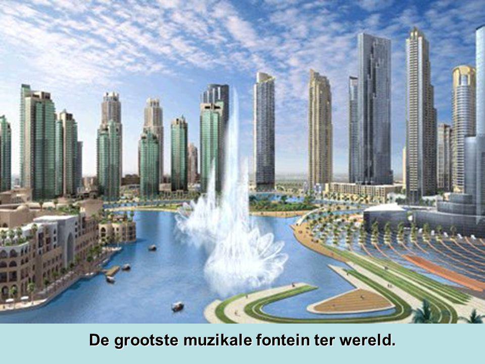 De grootste muzikale fontein ter wereld.