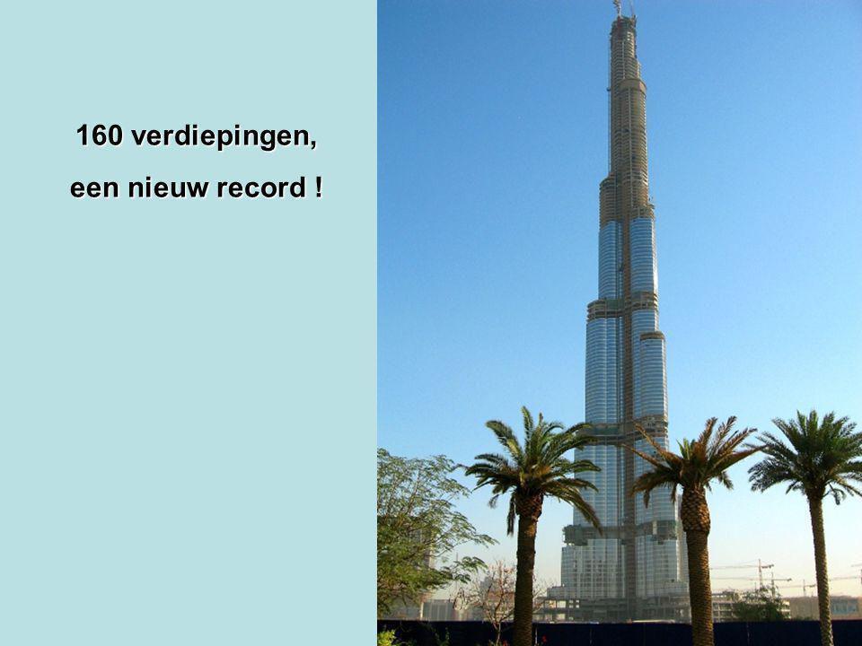 160 verdiepingen, een nieuw record !