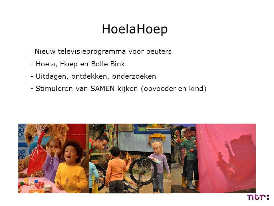 HoelaHoep Nieuw televisieprogramma voor peuters