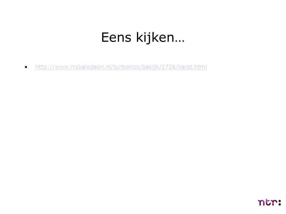 Eens kijken… http://www.nickelodeon.nl/turbonick/bekijk/1726/kerst.html