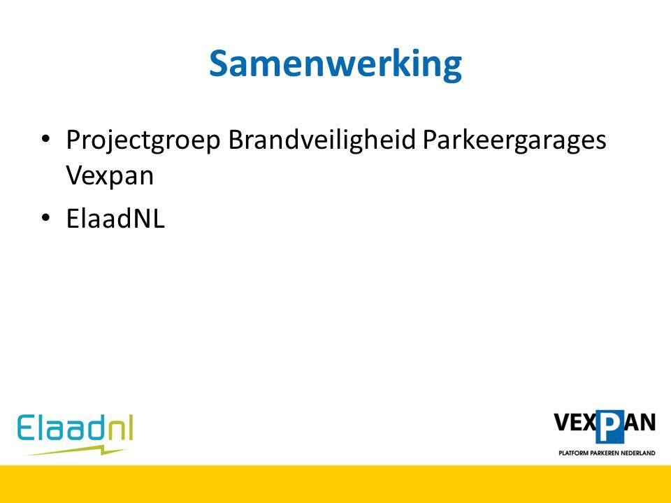 Samenwerking Projectgroep Brandveiligheid Parkeergarages Vexpan