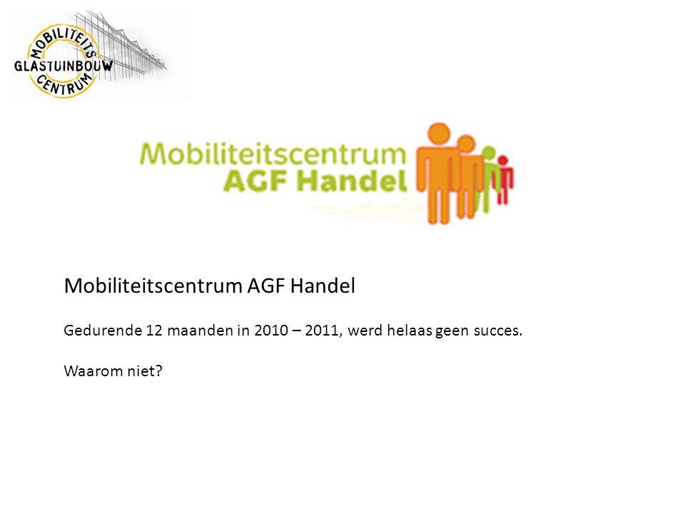 Mobiliteitscentrum AGF Handel