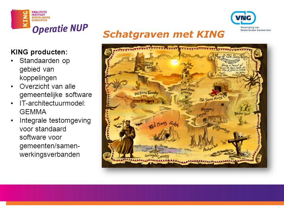 Schatgraven met KING KING producten:
