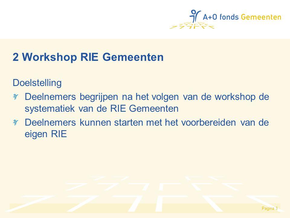 2 Workshop RIE Gemeenten