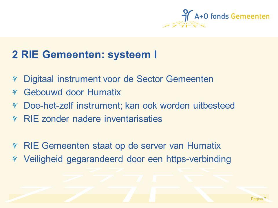 2 RIE Gemeenten: systeem I