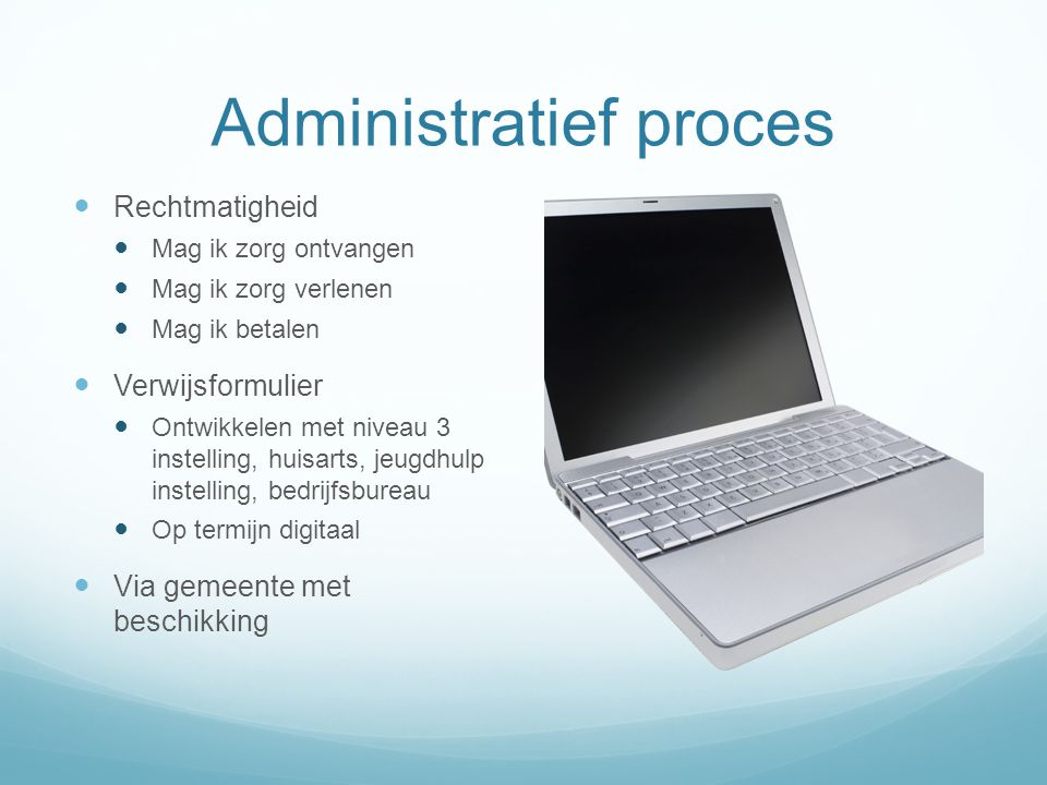 Administratief proces
