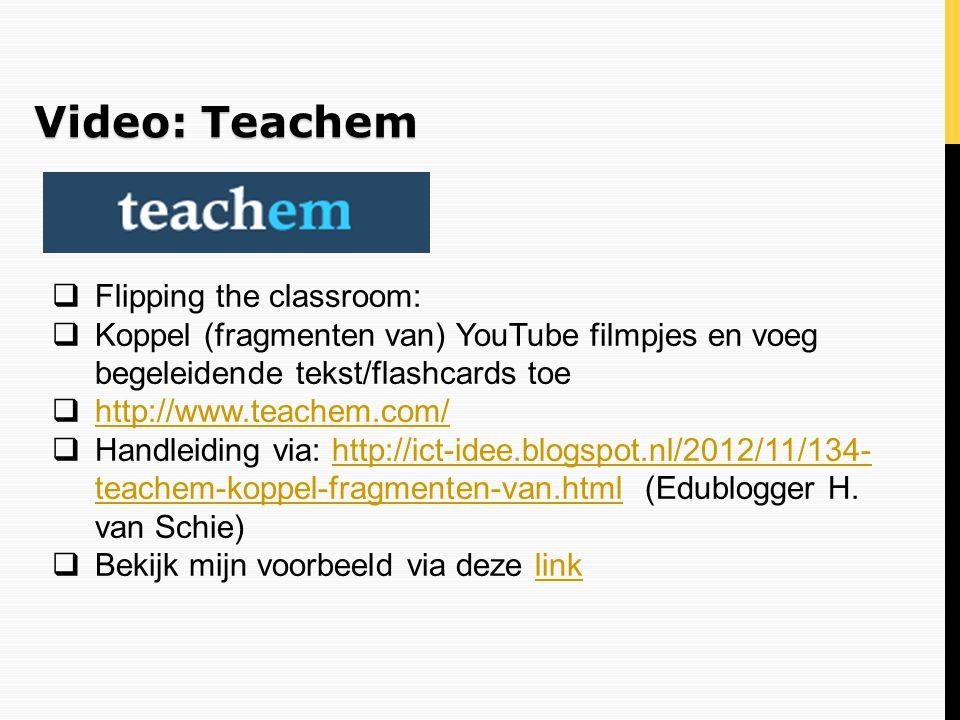 Video: Teachem Flipping the classroom: