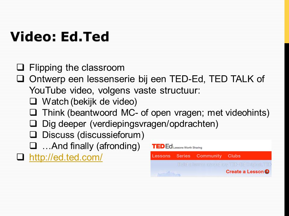 Video: Ed.Ted Flipping the classroom