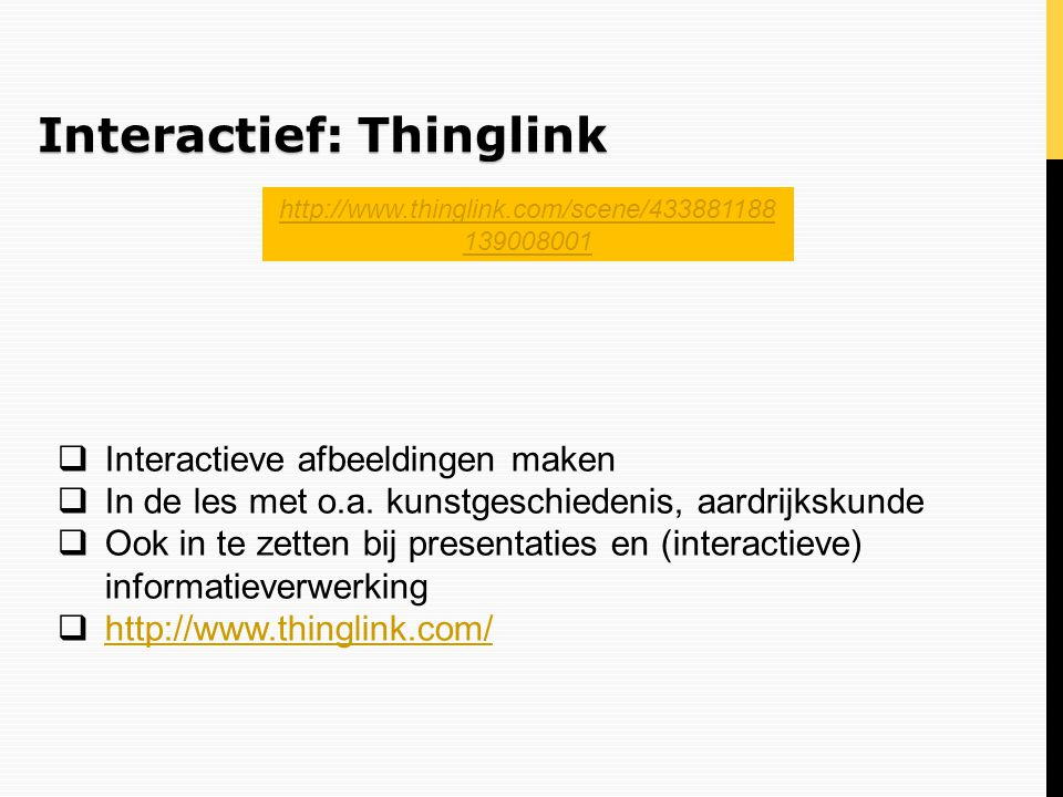 Interactief: Thinglink