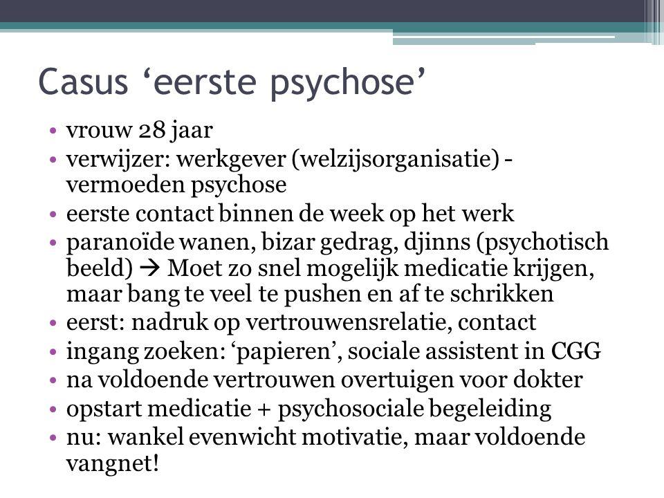 Casus 'eerste psychose'