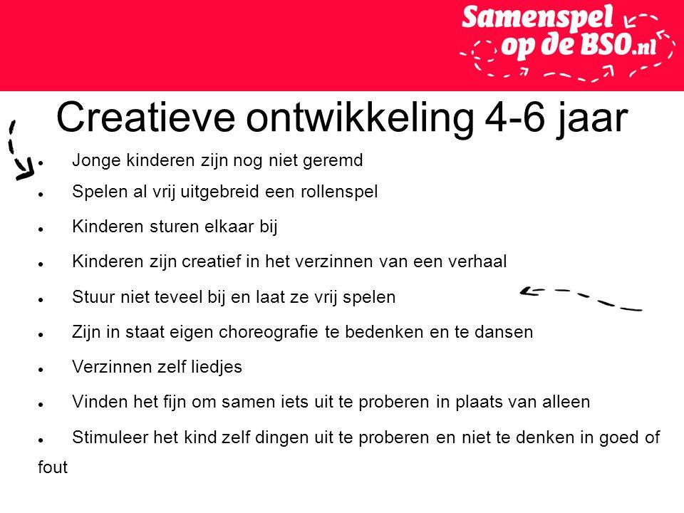 Creatieve ontwikkeling 4-6 jaar