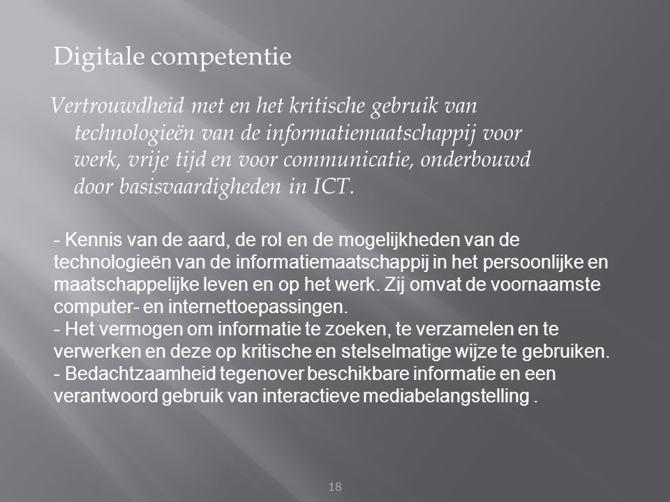 Digitale competentie