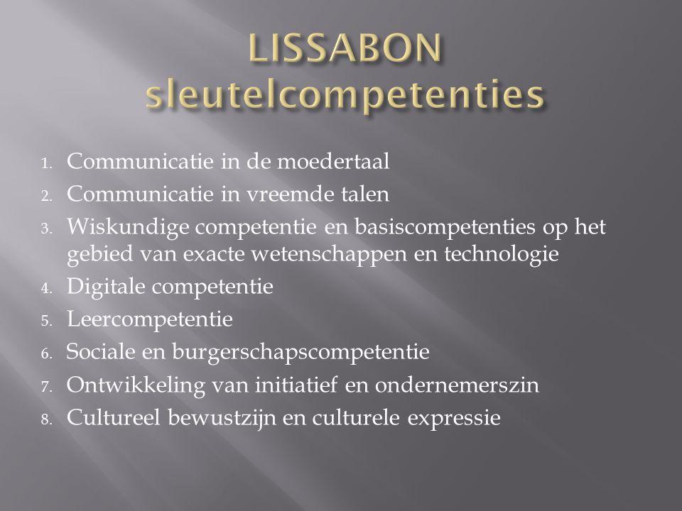 LISSABON sleutelcompetenties