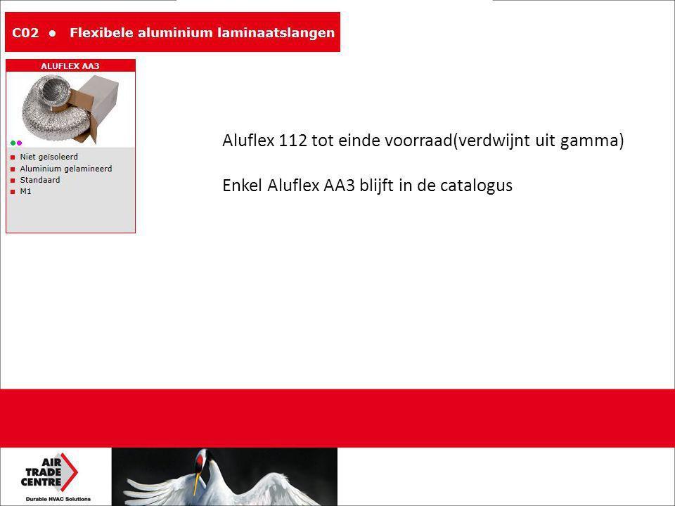 Aluflex 112 tot einde voorraad(verdwijnt uit gamma)