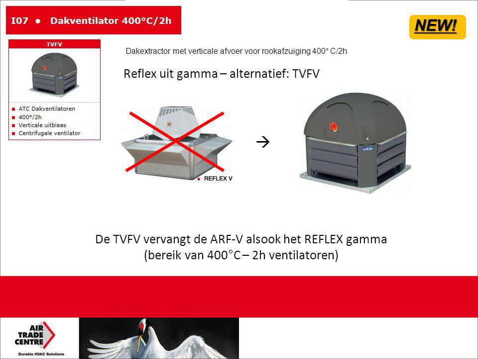 NEW!  Reflex uit gamma – alternatief: TVFV