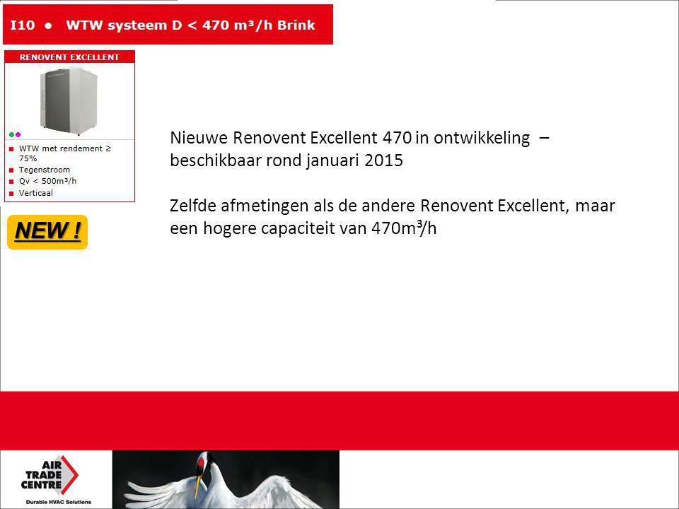 Nieuwe Renovent Excellent 470 in ontwikkeling – beschikbaar rond januari 2015