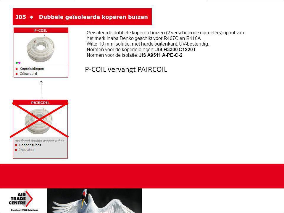 P-COIL vervangt PAIRCOIL
