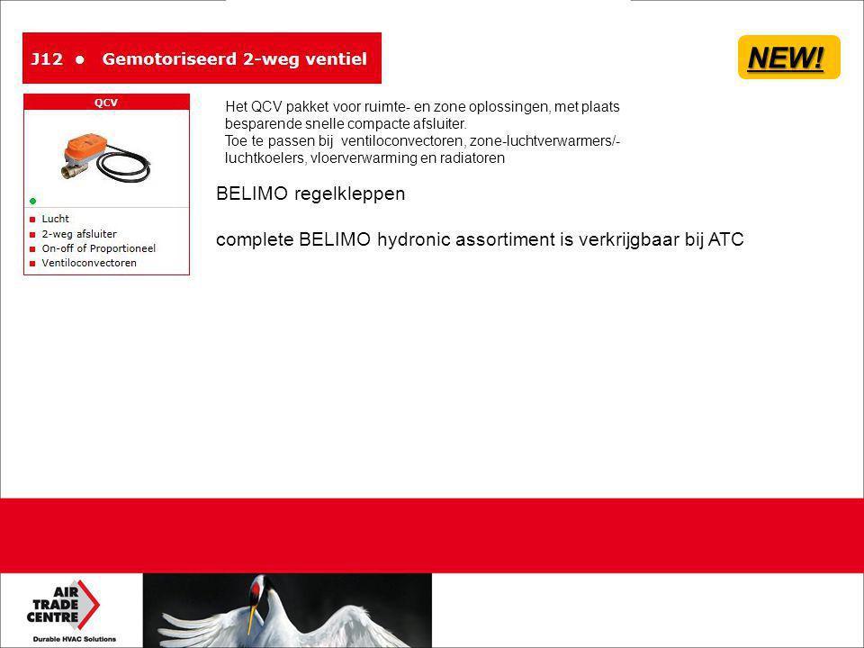 NEW! BELIMO regelkleppen