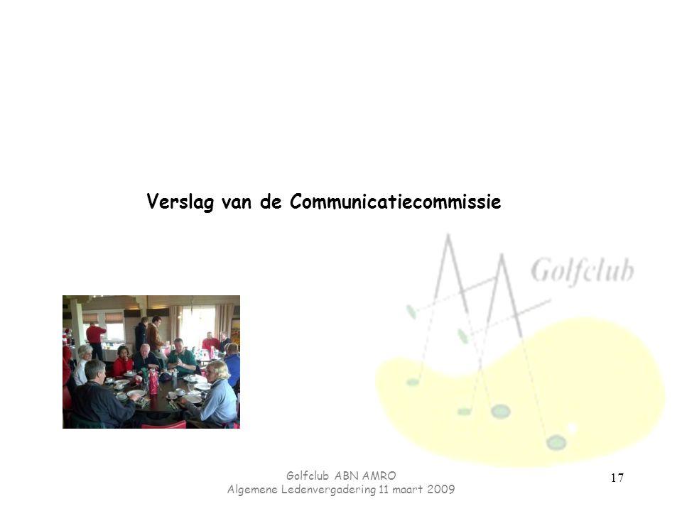 Verslag van de Communicatiecommissie