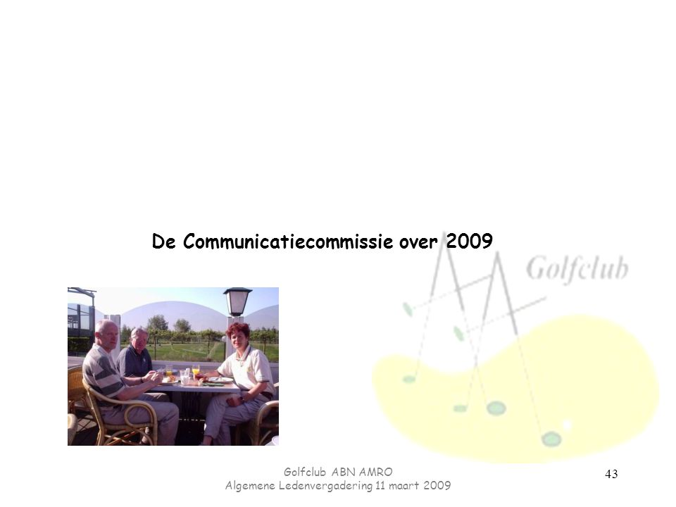De Communicatiecommissie over 2009