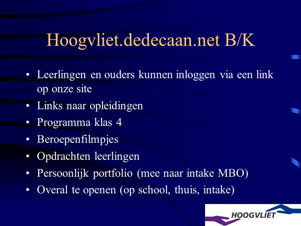 Hoogvliet.dedecaan.net B/K
