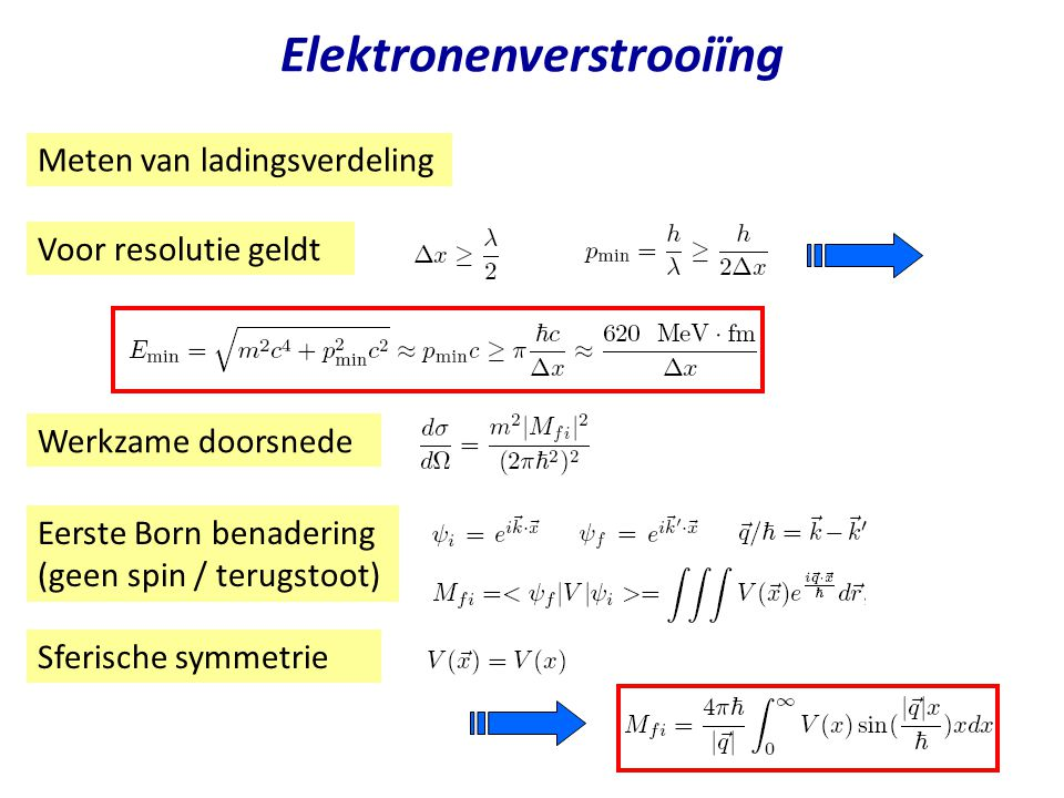 Elektronenverstrooiïng