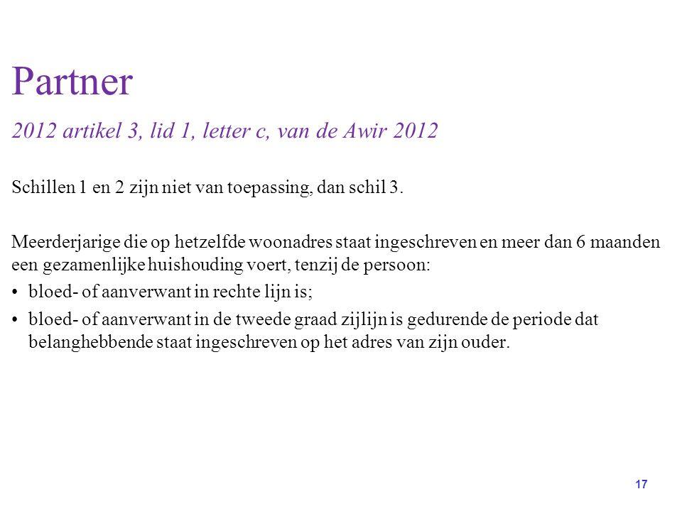 Partner 2012 artikel 3, lid 1, letter c, van de Awir 2012