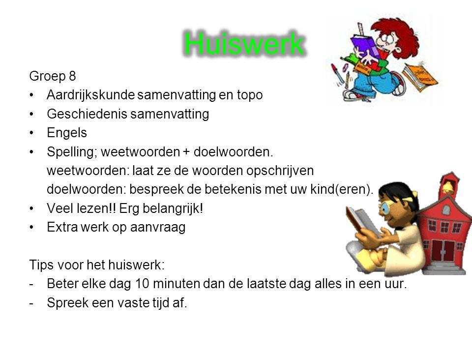 Huiswerk Groep 8 Aardrijkskunde samenvatting en topo