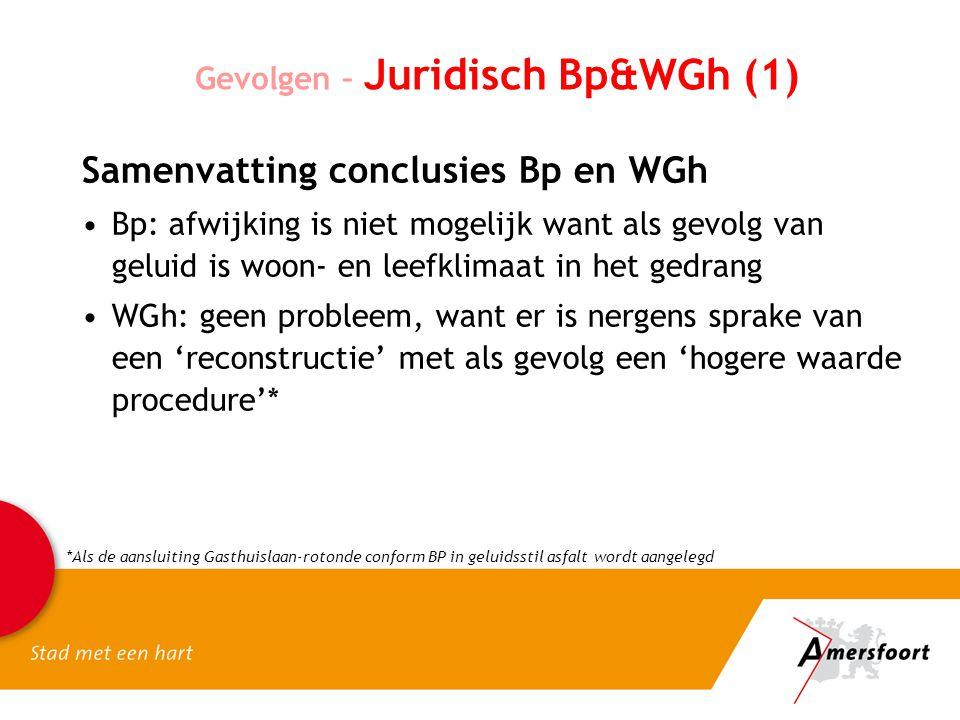 Samenvatting conclusies Bp en WGh