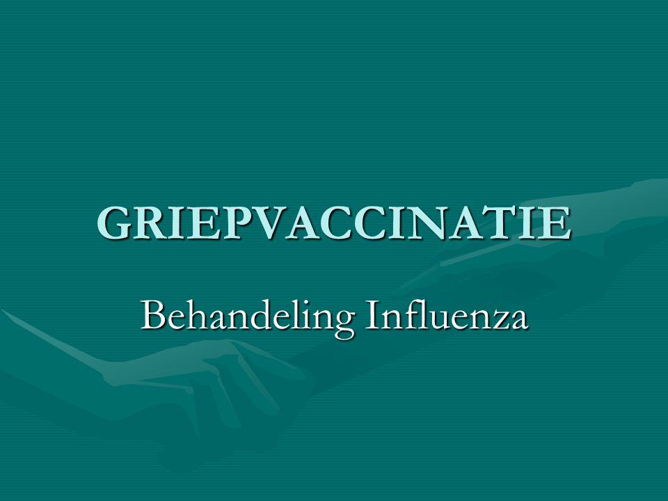 Behandeling Influenza