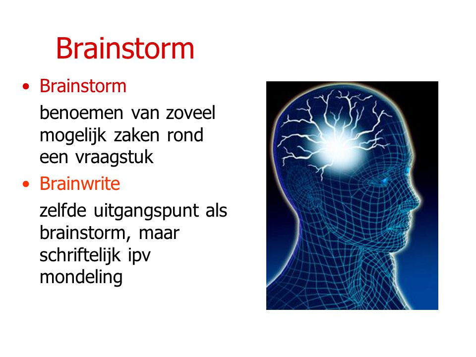 Brainstorm Brainstorm