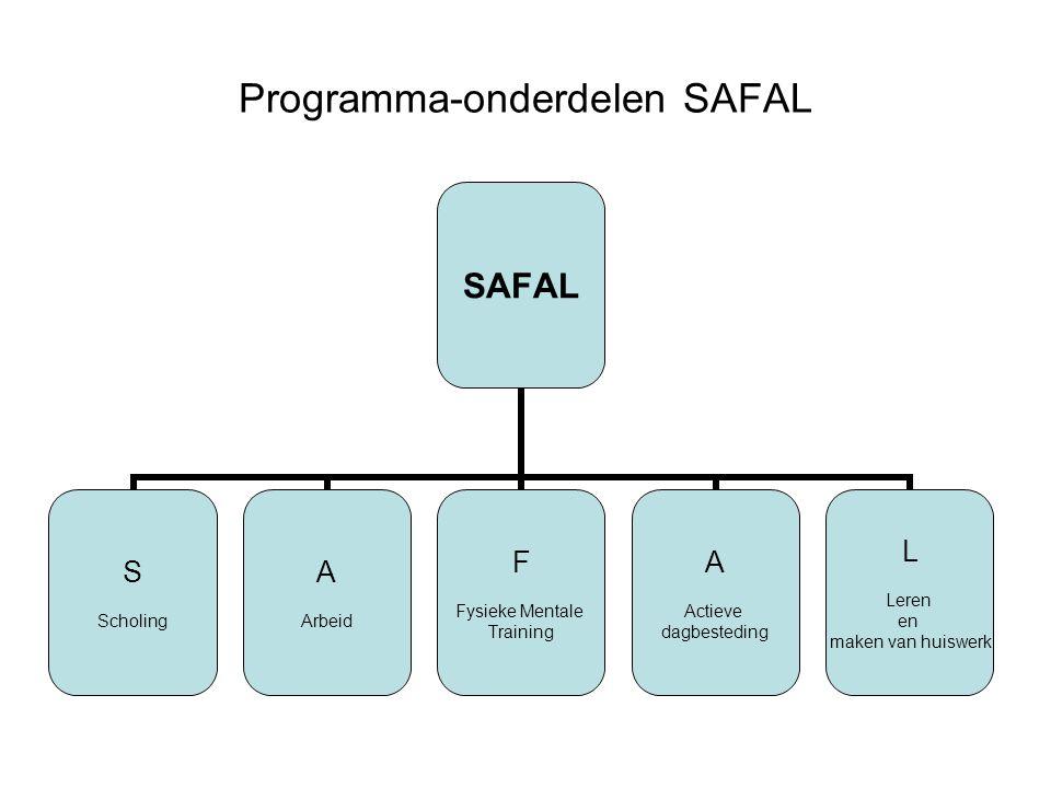 Programma-onderdelen SAFAL