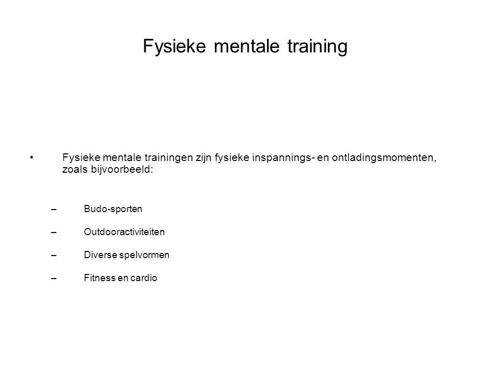Fysieke mentale training