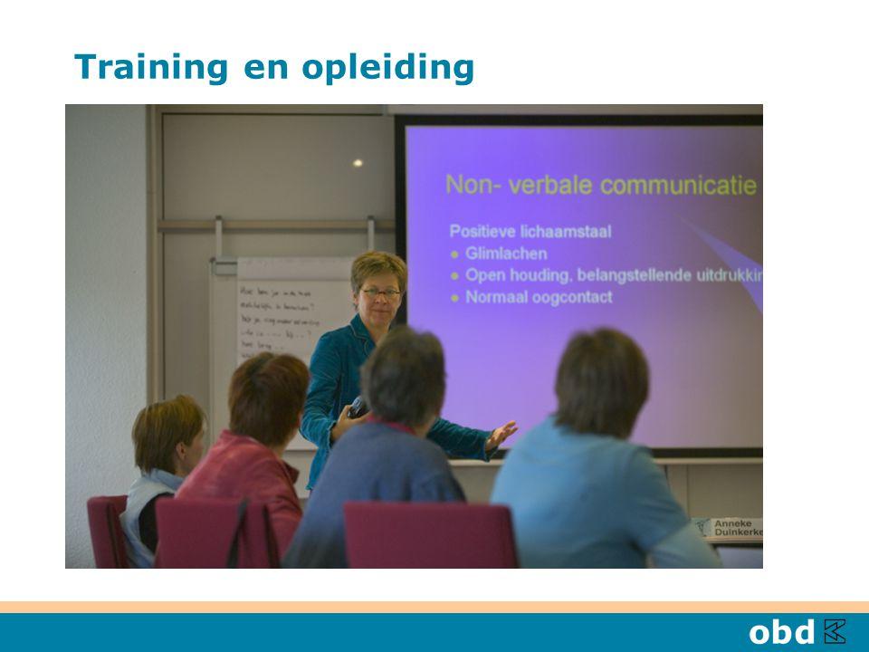 Training en opleiding Individuele ontwikkeling Scholing en training