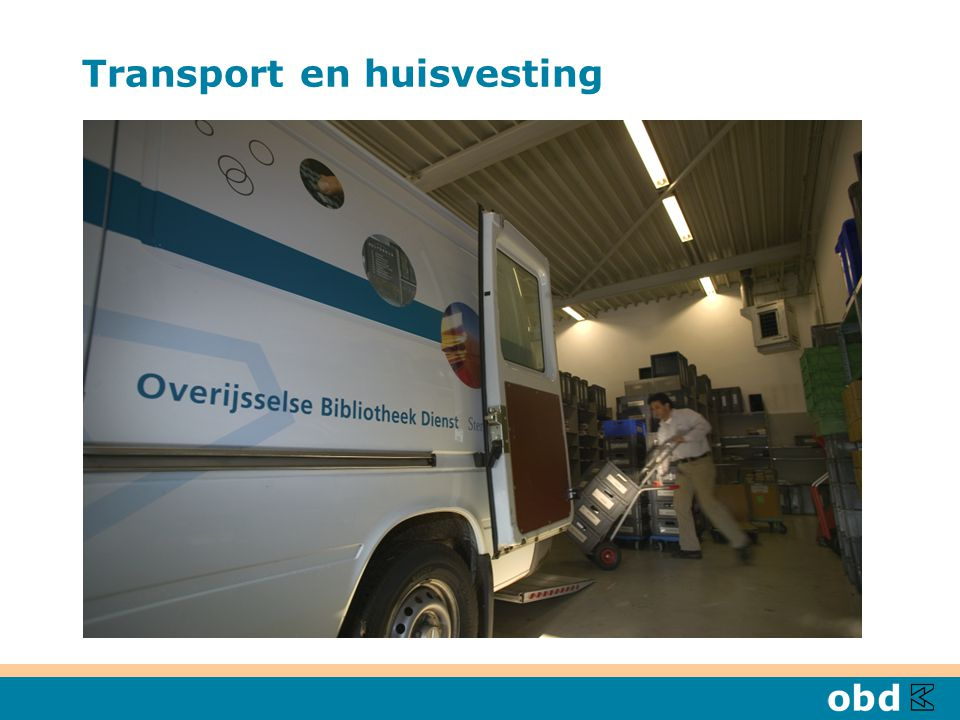 Transport en huisvesting