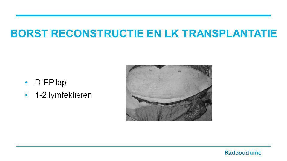 Borst reconstructie en LK transplantatie