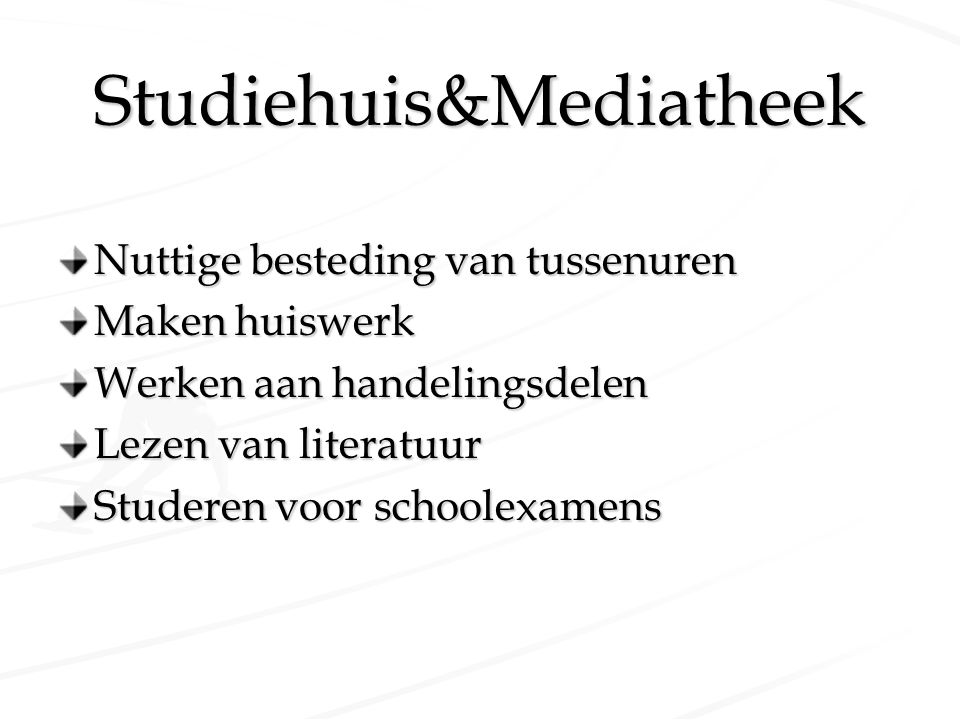 Studiehuis&Mediatheek