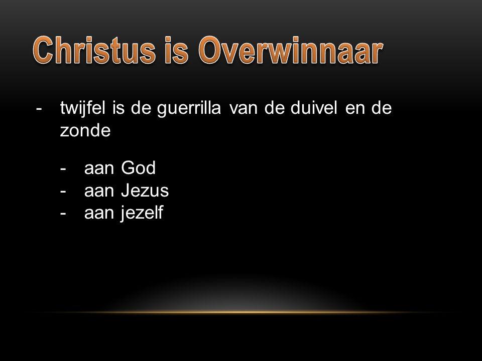 Christus is Overwinnaar