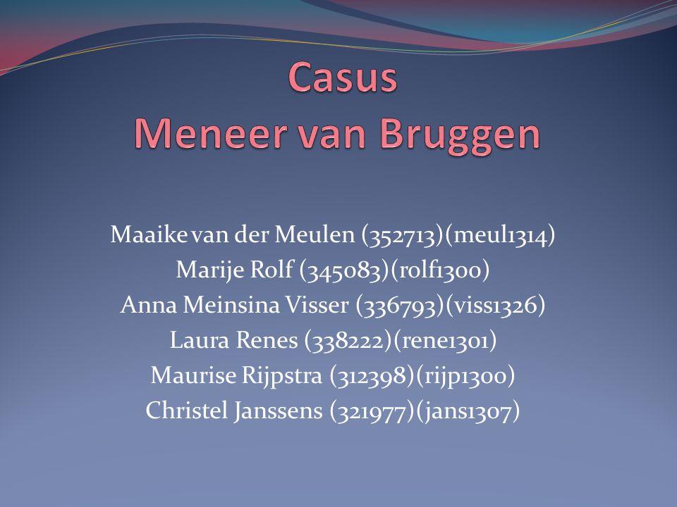 Casus Meneer van Bruggen