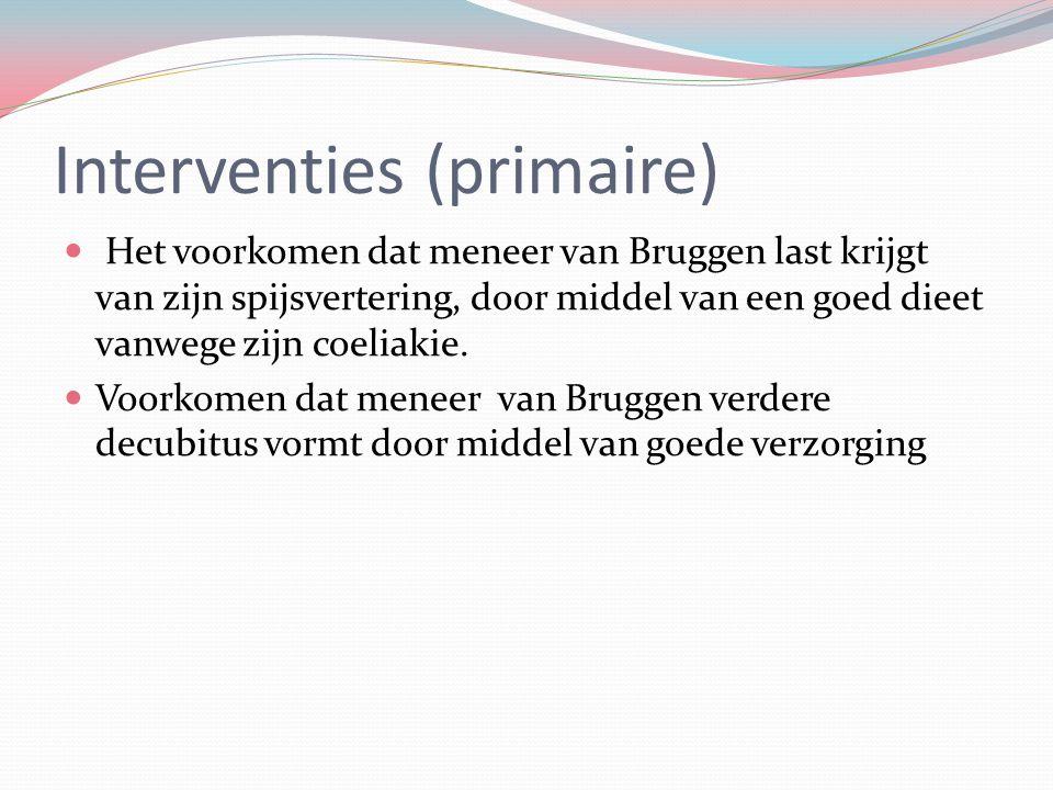 Interventies (primaire)