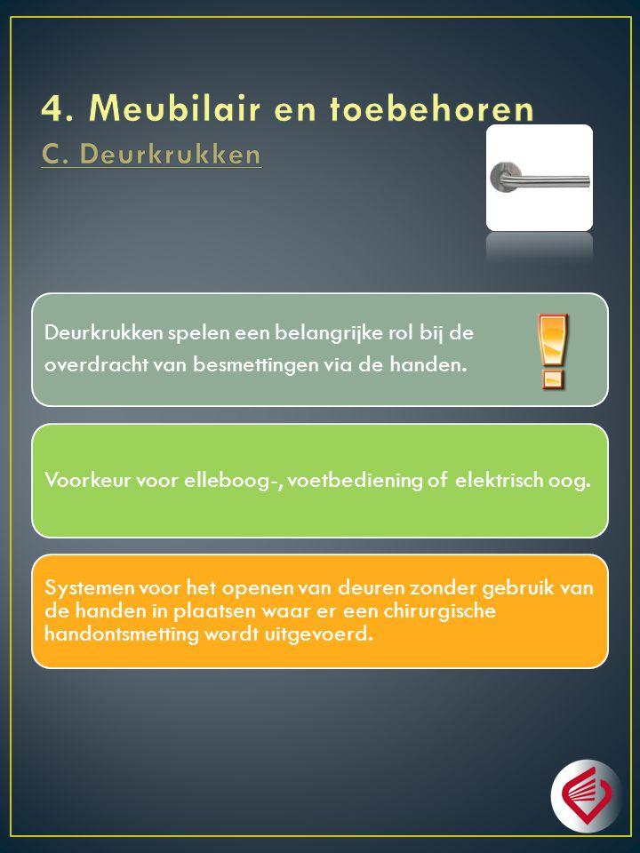 4. Meubilair en toebehoren C. Deurkrukken