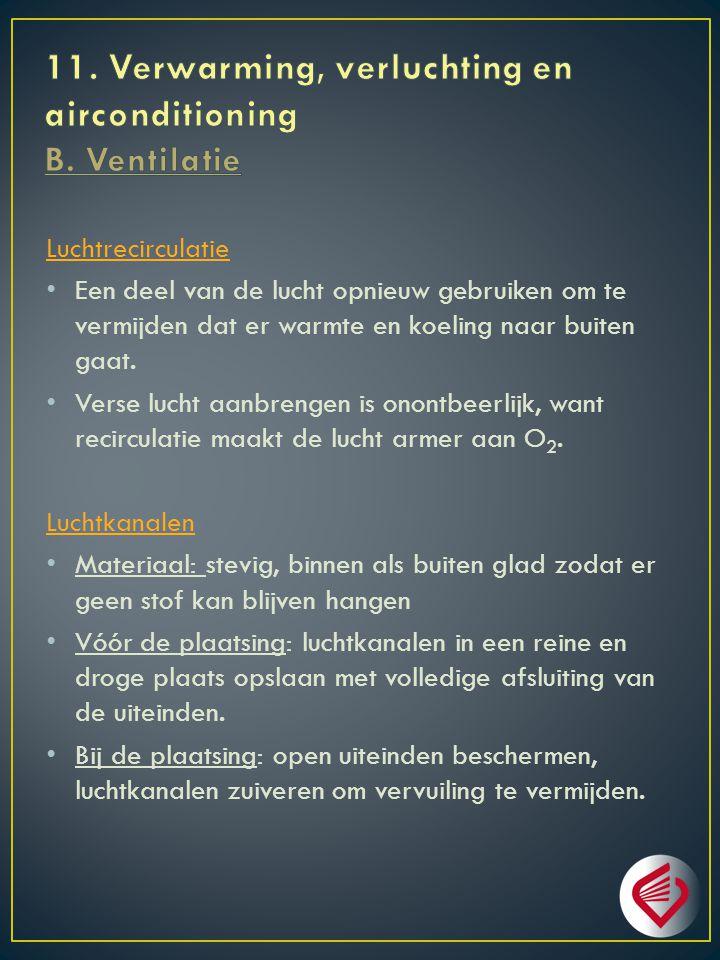 11. Verwarming, verluchting en airconditioning B. Ventilatie