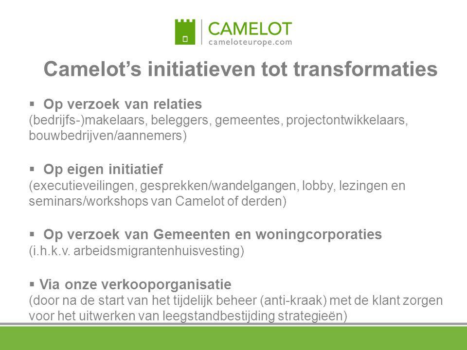 Camelot's initiatieven tot transformaties