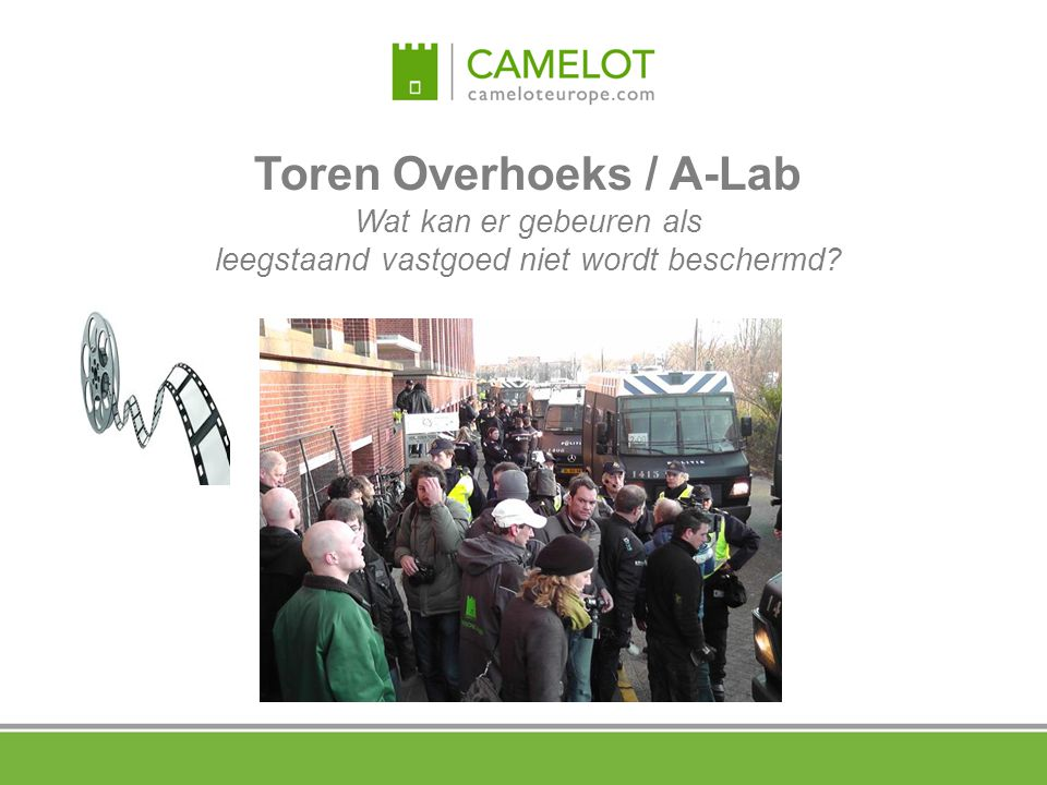 Toren Overhoeks / A-Lab Wat kan er gebeuren als leegstaand vastgoed niet wordt beschermd