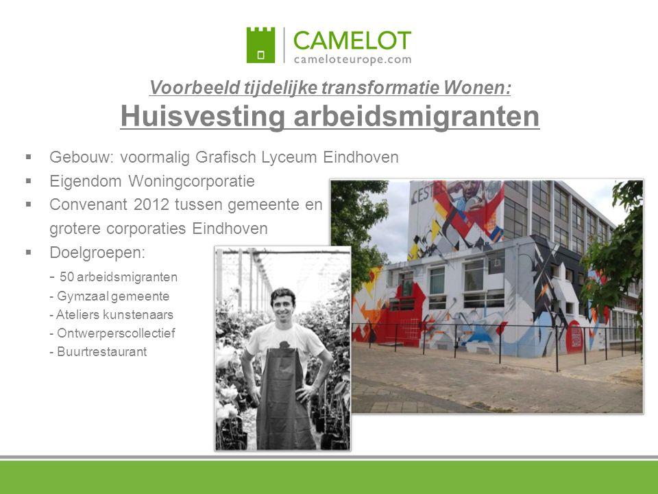Voorbeeld tijdelijke transformatie Wonen: Huisvesting arbeidsmigranten